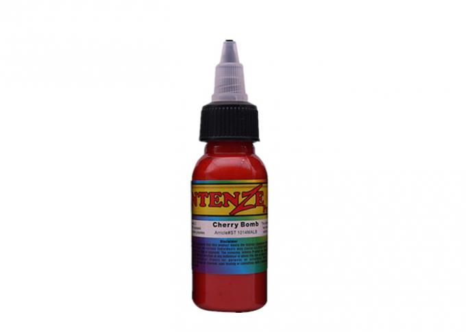 7 Color Options Permanent Tattoo Ink , 30ml / 1oz / Bottle Intenze Tattoo Ink