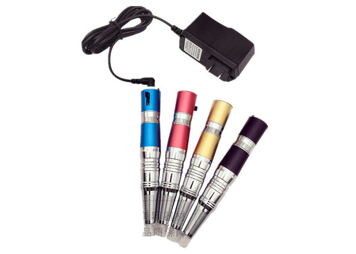 Strong Motor Semi Permanent Tattoo Pen Built In Battery 4 Color Options
