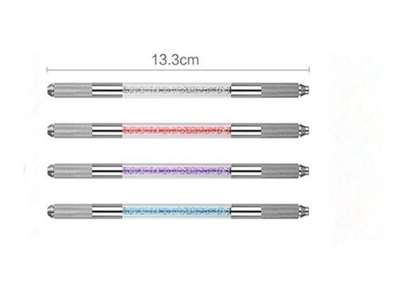 China Multi Function Permanent Eyebrow Tattoo Pen 4 Color Options Microblading Tattoo Pen factory