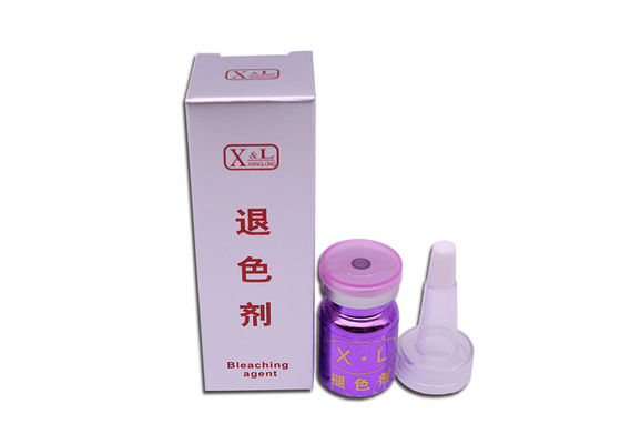 XL Bleaching Agent In Time Swelling Color Toner 10ml Glass Bottle For Any Skin Type