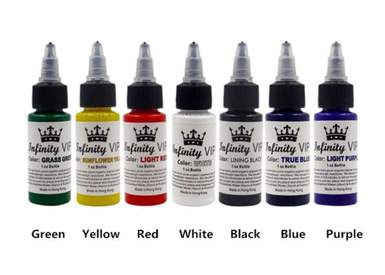 China 30ml Liquid Permanent Tattoo Ink , Multiple Colors Natural Tattoo Ink factory