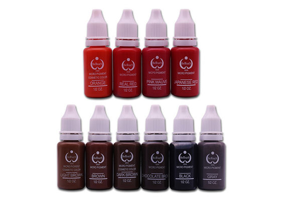 China Permanent Biotouch Medical Grade Tattoo Ink 15ml For Tattoo Makeup factory